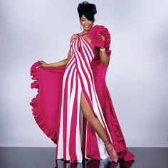 Ebony Fashion Fair Models - I so want this outfit. *hint, hint* Great birthday gift... That gives me 3 months to get in it. LOL!