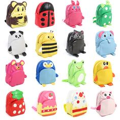 Hot New 2014 Cute 3D Animal Child Kids Bags School Backpack for Boys Girls Gifts #XBL #Backpack