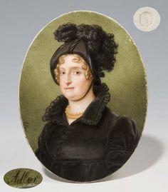 Christian Adler (1787-1850), Herzogin von Pfalz Neuburg How fabulous is this hat??