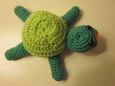schildpad gehaakt door Gerda