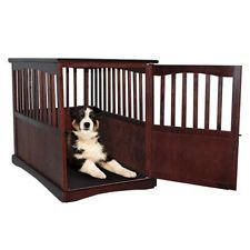 Indoor Kennel Newport Pet Crate End Table Wooden Furniture Medium Cat Dog House