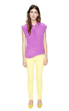 looks like colorblocking is sticking around for spring