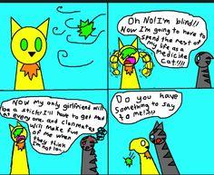 Warrior Cats Text Messages - The Leaf Cat - Wattpad Warrior Cats Funny, Warrior Cats Comics, Warrior Cat Memes, Warrior Cats Series, Warrior Cats Books, Cat Comics, Cat Text, Love Warriors, Fan Art