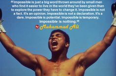Muhammad Ali, the magnificent heavyweight champion whose fast fists and irrepressible personality transcended sports and captivated the world, died Friday of. Wise Up, Float Like A Butterfly, Motivational Quotes, Inspirational Quotes, Meaningful Quotes, Law Of Attraction Quotes, Muhammad Ali, Self Esteem, Famous Quotes