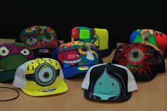 gorras pintas a mano por Biz-Man