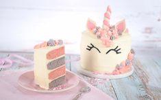 Enhjørning kake passer å lage til flere anledninger. Vi gir deg en oppskrift steg for steg, så følg oppskriften nøye for et vellykket resultat. Cookie Monster, 3rd Birthday, Cake Ideas, 6 Months, Fondant, Food And Drink, Cakes, Desserts, Recipes