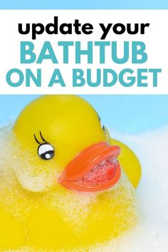 Use these frugal home improvement tips to make your bathroom look like new! Learn how to update your old shower and bathtub on a budget. Ideas for refinishing a tub, tile, and more. Tub Faucet, Shower Faucet, Shower Tub, Bathtub, Bathroom Showers, Allowance For Kids, Old Bathrooms, Floors And More