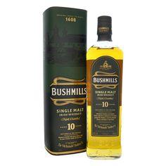 Bushmills 10 Year Old Single Malt Irish Whiskey 70cl