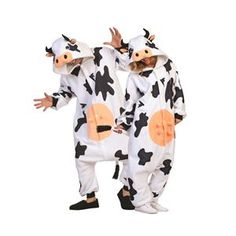 Adult Cow Costume - Milk this cute costume for all it's worth! Have a grass-grazing good time on Halloween when you don this clever and comfortable Cow Adult's Unique Couple Halloween Costumes, Trendy Halloween, Cute Costumes, Super Hero Costumes, Adult Costumes, Costumes For Women, Halloween Ideas, Awesome Costumes, Spirit Halloween