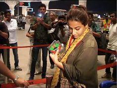 WATCH Vidya Balan spotted at Mumbai Airport leaving for IIFA Awards 2015 press conference. See the video at : https://youtu.be/lCJdd5dkyrM #vidyabalan #bollywood #bollywoodnews