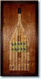 wine cork art - Bing Images Wine Cork Art, Wine Bottle Art, Wine Cork Crafts, Bottle Crafts, Diy Corks, Beach Crafts, Diy Crafts, Cork Heart, Wine Cork Projects
