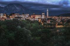 Belluno in attesa del temporale - Dolomites, province of Belluno, Veneto, Northern Italy