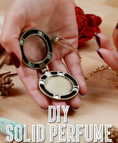 How to make your own solid perfume with essential oils