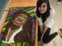 Bob marley 1st place eat your art out contest:D