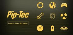 PipTec Amber Icons & Live Wall v1.4.7