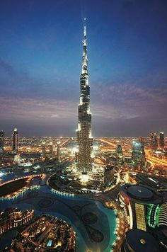 #Dubai's record-breaking Burj Khalifa remains one of the city's most talked about structures.