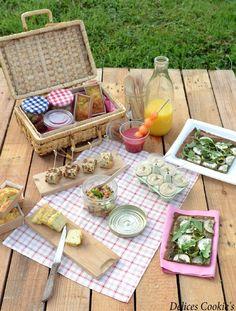 Idées pique-nique  http://delicescookies.canalblog.com/