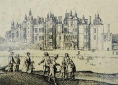Richmond-Palace Richmond Palace, England, London, Explore, History, Bag, Painting, Purse, Historia