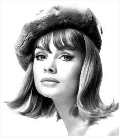Jean Shrimpton, 1963. Photo: David Bailey.