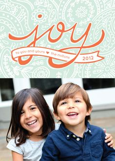 #38. Paisley Joy by @Laura Jayson Hankins from Waynesville, MO. Announcing @Minted #Holiday2012 design challenge winners.