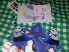 "UnderSwap Sans 2"" Double Sided Glitter Charm LIMITED EDITION"