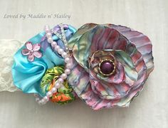 Couture Baby Headband Accessories by LovedbyMaddienHailey $20.00
