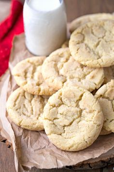 Mapledoodle Cookie Recipe - maple sugar cookies meet snickerdoodles in this easy Christmas cookie!