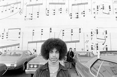 Prince photographed by Robert Whitman