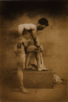 Category:Pictures of nude males by Jean Louis Marie Eugène Durieu Holland, Eugène Delacroix, History Of Photography, Iconic Photos, Art Series, Hercules, All Art, Vintage Men, Photo Art