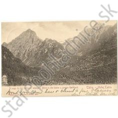 Vysoké Tatry, Stengel