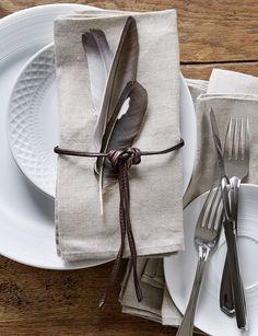 schlicht-schöne Tischdekoration zu Ostern #eastern #table #decoration