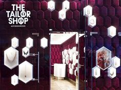 The Tailor Shop, Moscow, 2015 - Ippolito Fleitz Group - Identity Architects Jewellery Shop Design, Jewellery Showroom, Jewellery Display, Jewelry Shop, Jewelry Stores, Illustration Simple, Tailor Shop, Retail Interior, Retail Design