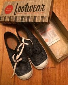 Rare Vintage 1950S Red Ball Black Sneakers Footwear NIB USA Child s shoes 7d9e9e318
