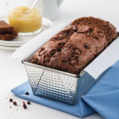 Pain aux courgettes et chocolat - 5 ingredients 15 minutes Zucchini Brownies, Muffin Bread, Brownie Bar, Scones, Banana Bread, Food And Drink, Yummy Food, Baking, Sweet
