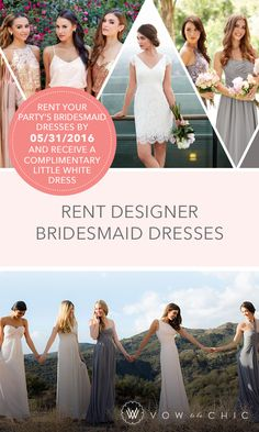 1000 Images About Bridesmaid Dresses To Rent On Pinterest Donna Morgan Mo