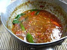 Just Try & Taste: Kuah Pecak (Sambal)