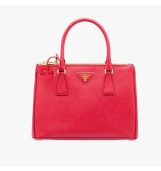 Prada 1BA863 Leather Tote In Red Cheap Totes, Leather Bag, Leather Handle,  Prada b5432d20ab