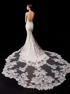 Pallas - 2021 Enzoani | Enzoani Elegant Wedding Dress, Designer Wedding Dresses, Bridal Dresses, Grace Loves Lace, Allure Bridal, Monique Lhuillier, Bridal Reflections, Essense Of Australia, Couture Wedding Gowns