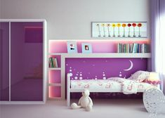 15+ awesome purple girls bedroom designs | bedroom themes, pink
