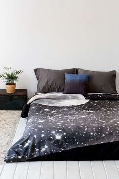 Moon and stars bedding from Urban Outfitters