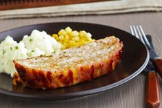 Bacon-Wrapped Turkey Meatloaf recipe