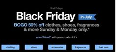 Last Day of Target Black Friday in July! BOGO 50% off clothing, shoes, fragrance, accessories & more + 10% off code! - http://www.pinchingyourpennies.com/last-day-of-target-black-friday-in-july-bogo-50-off-clothing-shoes-fragrance-accessories-more-10-off-code/ #Accessories, #Blackfriday, #BOGO, #Clothing, #Fragrance, #Shoes, #Target