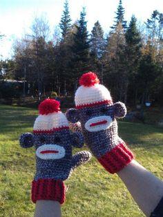 Ladies Sock Monkey ... by Suzi44   Crocheting Pattern