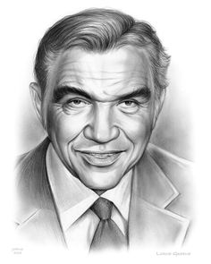 Lorne Greene by Greg Joens Portrait Sketches, Pencil Portrait, Portrait Art, Celebrity Drawings, Celebrity Portraits, Old Man Pictures, Lorne Greene, Film Icon, Black Love Art