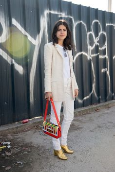 How to Wear Winter White | StyleCaster