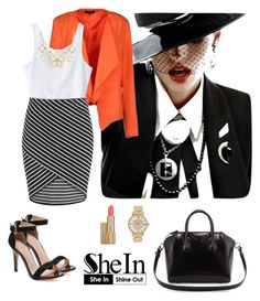 """Shein 2."" by amra-f ❤ liked on Polyvore featuring SELECTED, Givenchy, Michael Kors, Estée Lauder and SHOUROUK"