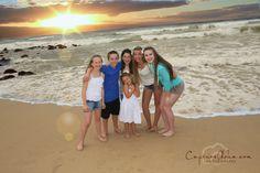 Sunset, Family Photos, Maui Photographer, www.capturealoha.com