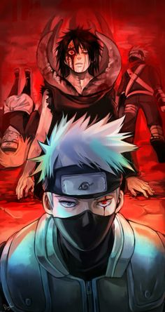 Rin,Kakashi and Obito