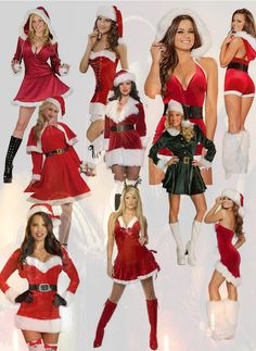 Santa Costume for Women Costume Ideas Cool Costumes, Adult Costumes, Costumes For Women, Costume Ideas, Christmas Fancy Dress, Christmas Parties, Christmas Ideas, Merry Christmas, Santa Costume