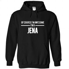 JENA-the-awesome - #tee itse #pullover sweater. MORE INFO => https://www.sunfrog.com/LifeStyle/JENA-the-awesome-Black-74665664-Hoodie.html?68278
